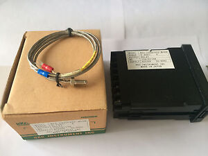 REX-C400(M) Instrument Temperature Controller with K thermocouple, Relay output