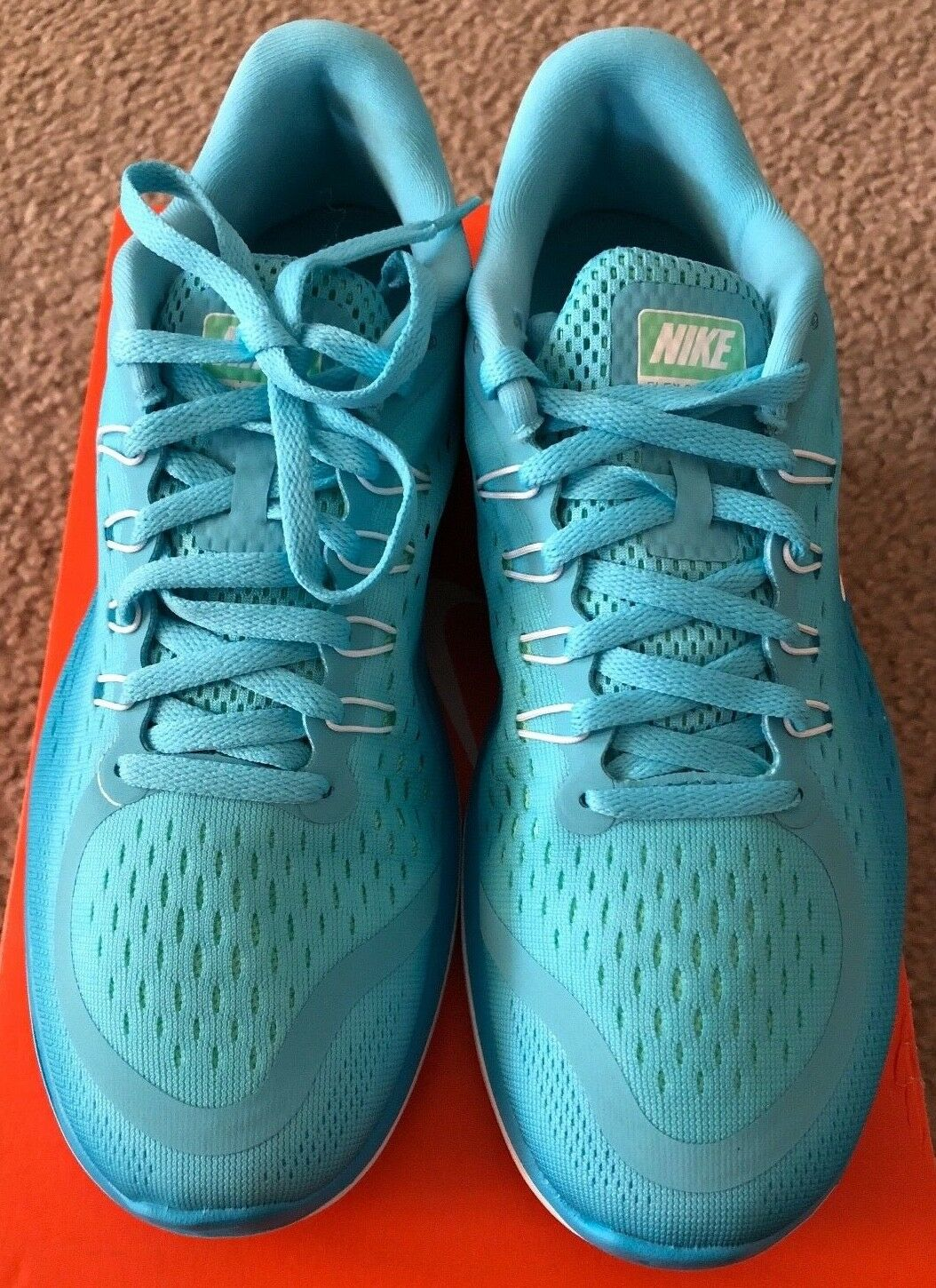 New New New Women's Nike Flex 2017 Running shoes Polarized bluee   Whole US Size 8, 9.5 fc6249