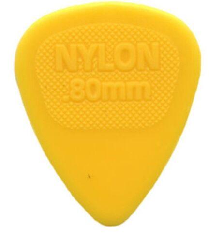Dunlop Guitar Picks  Nylon MIDI  72 Pack  .80mm  Yellow