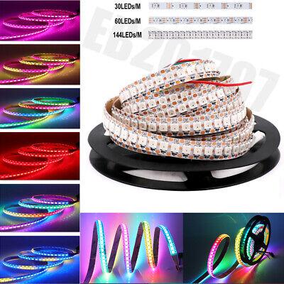 WS2812B RGB LED Streifen Licht 5m WS2812 SMD 5050 Individuell Adressierbar DC5V