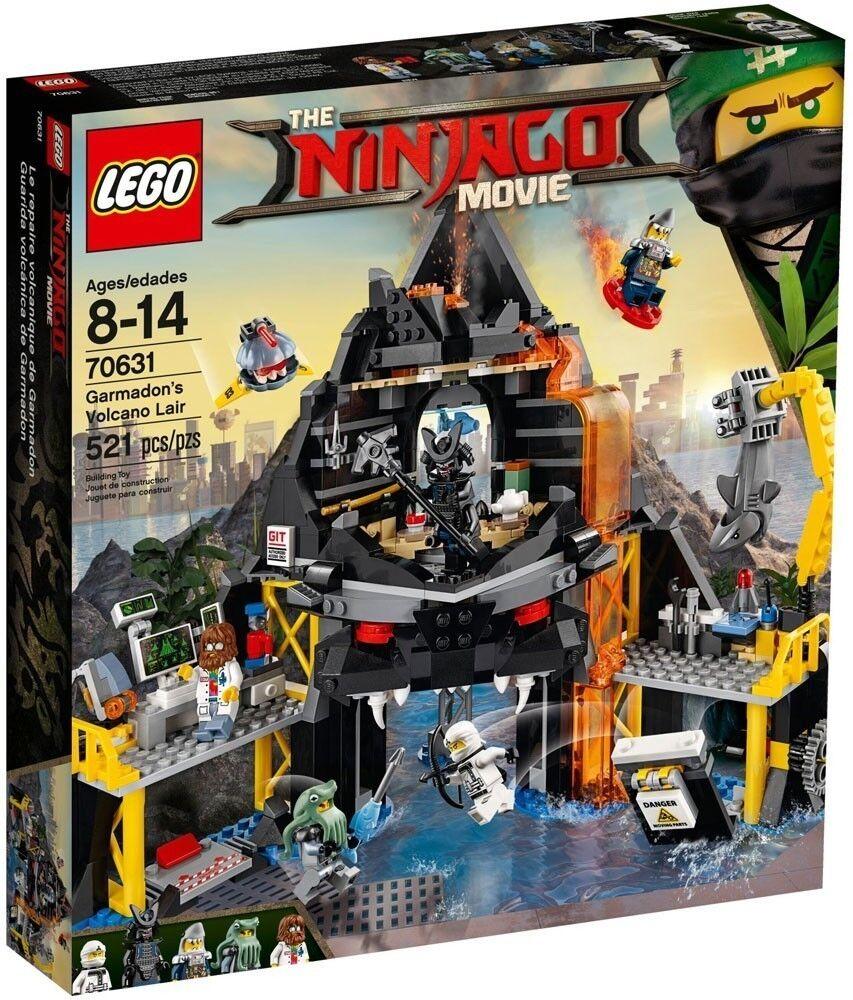 70631 LEGO Ninjago - Garmadon's Volcano Lair The Ninjago Movie