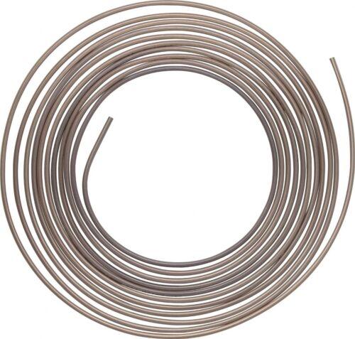 """3 x Cupro Nickel Brake Pipe Hose Line 3//16/"""" 25Ft Kunifer Tubing BS EN12449"""