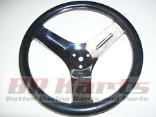"VINTAGE GO KART AZUSA 12"" Neoprene Competition Steering Wheel"