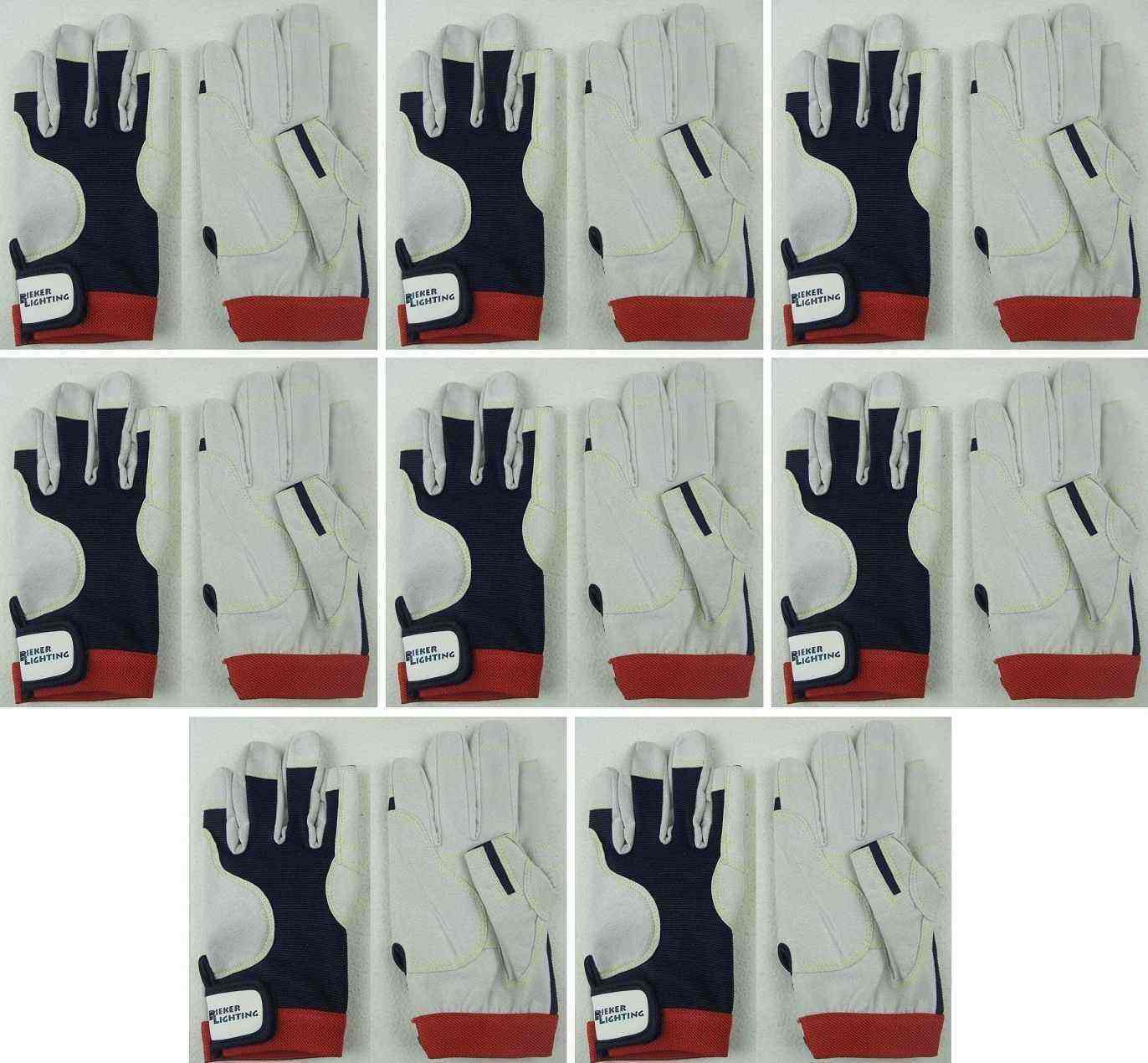 8 Paar Motorsport Handschuhe AMARA PRO Gr. M Roadiehandschuhe Fahrerhandschuhe