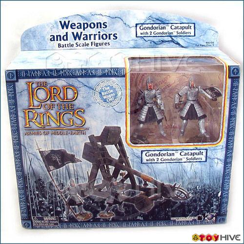 Lord of the Rings AOME Lord Lord Lord of the Rings Gondorian Catapult 2 men box set LoTR 0589f2