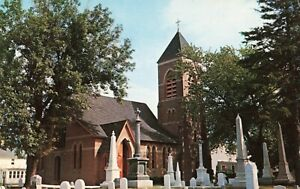 Postcard-Christ-Church-Episcopal-Milford-Delaware