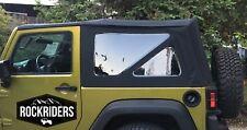 07-18 Jeep Wrangler JK 2 Door Replacement Tinted Windows & Soft Top Special Buy!