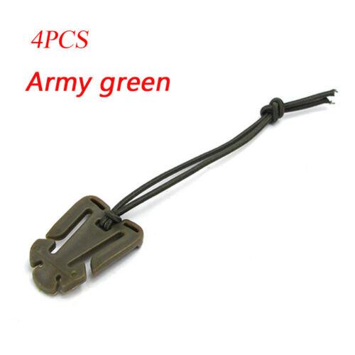 4PCS//SET  EDC Bag Mini Tool Backpack Carabiner Molle Buckle Clip Winder Update