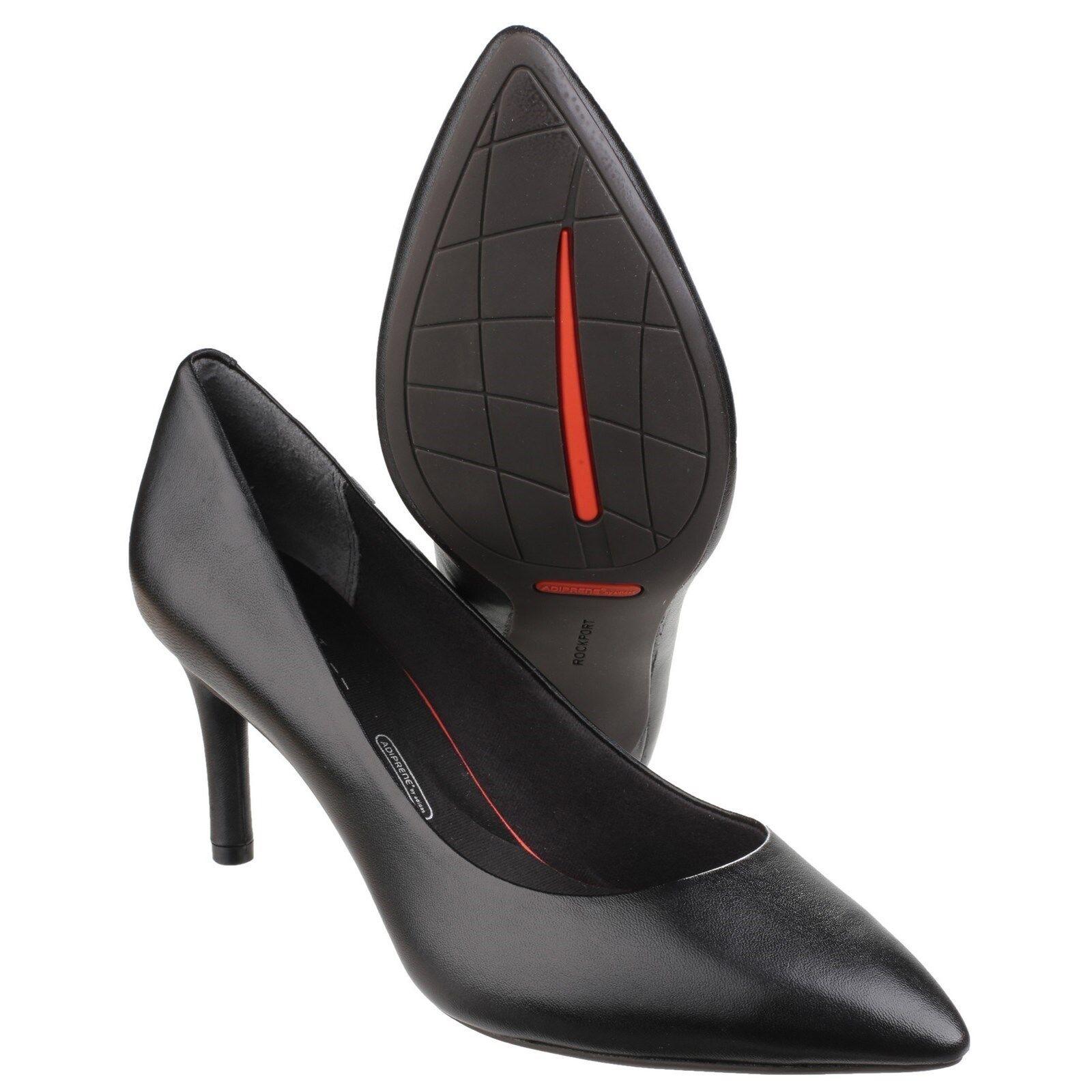 Rockport Total Motion Punto Zapatos Zapatos Zapatos Puntera Charol Tacón Aguja Mujer de Salón  lo último