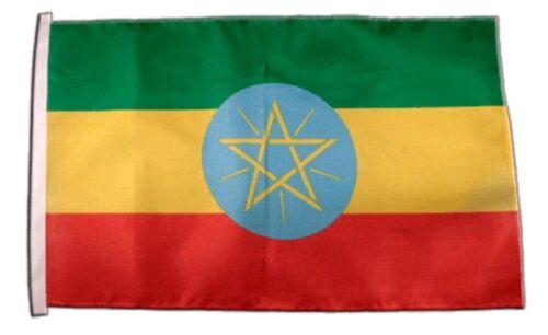 Äthiopien Banner äthiopische Fahnen Flaggen 30x45cm