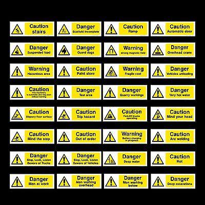 WG22 Danger Test Area 300x100mm Plastic Sign OR Sticker