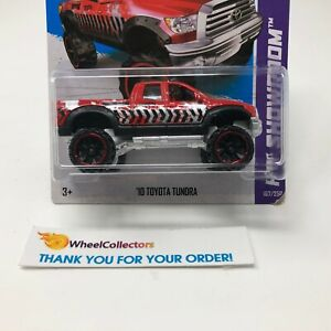 Bad-Card-039-10-Toyota-Tundra-167-RED-2013-Hot-Wheels-HC14