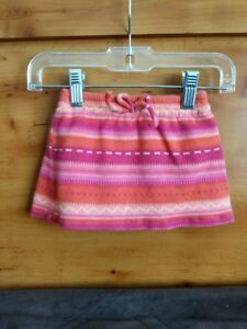 0bceee38a6e5 Children s Place Baby Infant Girl s Pink Purple Striped Knit Skirt ...