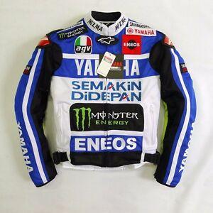 Motorcycle yamaha yzf r1 r3 r6 biker racing jacket for Yamaha r1 motorcycle jackets