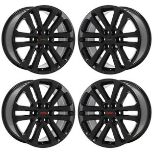 Image Is Loading 18 034 Gmc Canyon Black Wheels Rims Factory