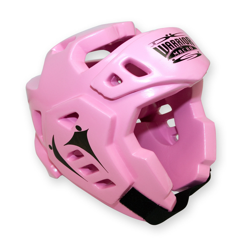 Macho Warrior Karate Headgear Taekwondo Double Foam Head  Guard - Pink  promotional items