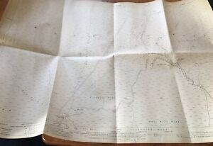 1928-Ordnance-Survey-Map-Plan-Pickering-Goathland-Moor-Howl-Whitby-Decor-Display