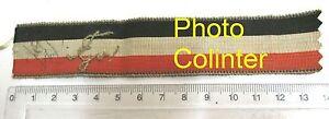 Allemagne 14-18 - Ruban de médaille - Patriotique Noir - Blanc - Rouge D8xbLSJG-09152653-676023728