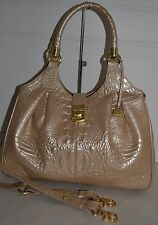 BRAHMIN ELISA FIZZ EMBOSSED LEATHER MELBOURNE  SATCHEL NEW WITH TAG