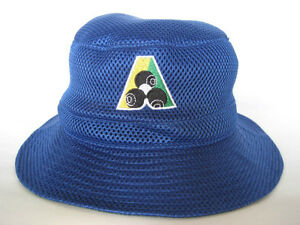 7f23c473067 Image is loading Avenel-Royal-Blue-Mesh-Lawn-Bowls-Bucket-Hats