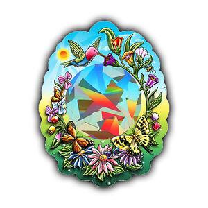 Prismatic-Sheet-Cardboard-Sun-Catcher-Choice-Wizard-Dolphin-or-Hummingbird