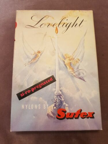 Vintage Hosiery Box Sutex Lovelight Nylons