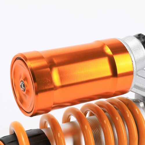 Pair of 12.5 Inch 325mm 600LBS Adjustable Air Aluminum Shock Absorber Motorcycle