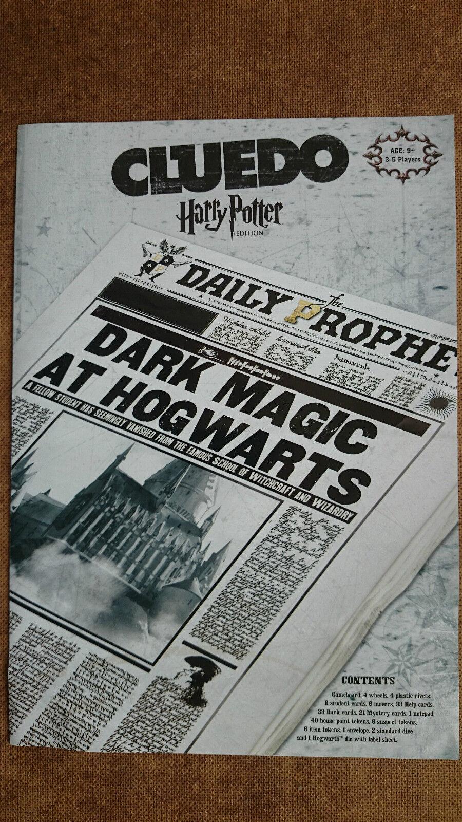 Harry Potter Cluedo Board Game  by Parker Parker Parker 2008 Unplayed 3afc53