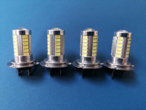 FITS HYUNDAI i40 ESTATE 2011+4X H7 5630 33SMD LED FOG HEADLIGHT LIGHT BEAM BULBS