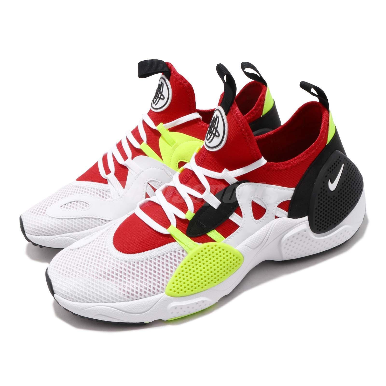 Nike Huarache E.D.G.E. Txt White Red Volt Black Men shoes Sneakers AO1697-100