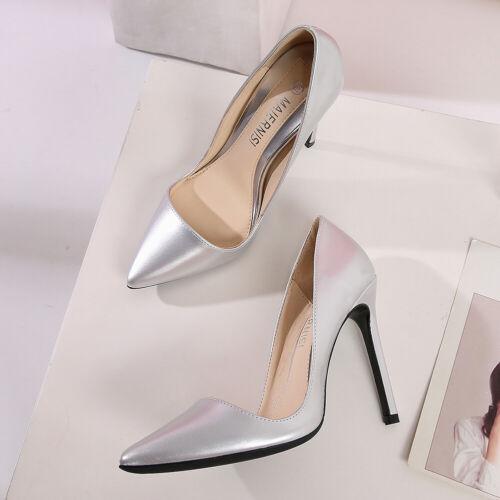 Trans Shoes Men/'s High Heels Crossdresser Pumps Drag Queen Black Patent Leather