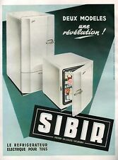 ▬► PUBLICITE ADVERTISING AD Réfrigérateur SIBIR 1951