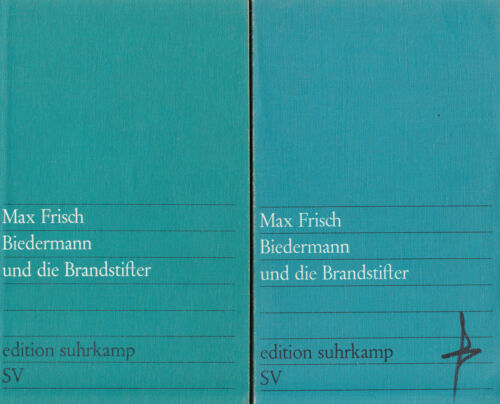 1 von 1 - su- e 0041 Frisch : BIEDERMANN UND DIE BRANDSTIFTER   b