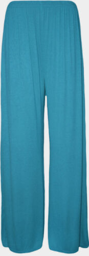 New Look Femmes Femmes Uni Palazzo Jambe Large Évasé Legging Pantalon Grande Taille 8-26