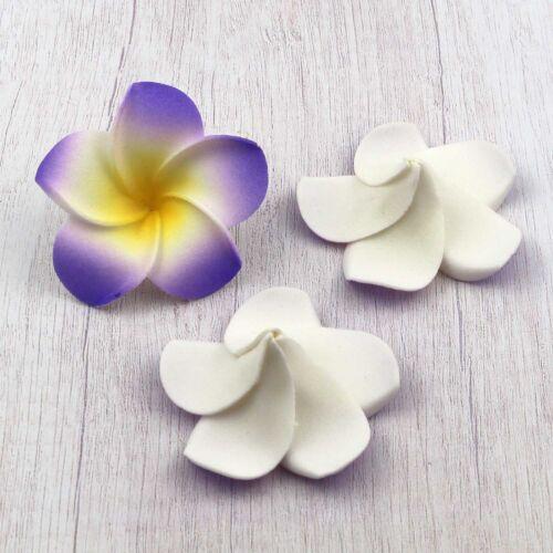 5cm Wedding Frangipani Foam Floating Plumeria Flower Heads Wedding Home Decor