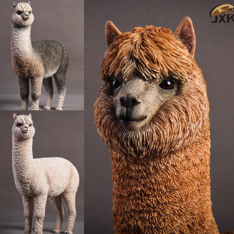JxK 1 6 Alpaca Grass Mud  Horse cifra Animal modellololo Collector Decor giocattolo Gift  presa di fabbrica