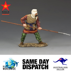 Kung and fosterland AG021 persisk krigare med Spear MIB