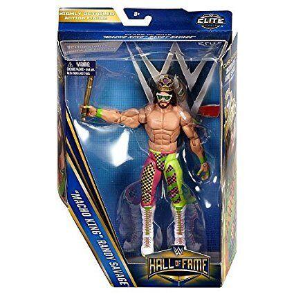 WWE Macho King Randy Savage Hall of Fame Mattel Wrestling Action Figure New