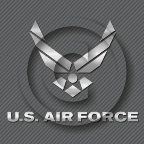 US Air Force Decal Military Veteran Car Truck Window Sticker Jet Fighter Pilot