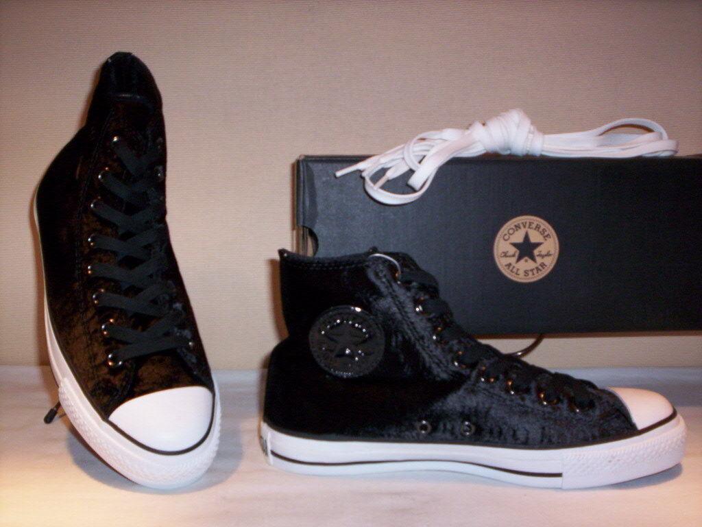 Le scarpe alte conversano tutte le stelle  no hi velluto donna bambino 37 41  si affrettò a vedere