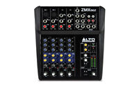 Alto ZMX862 6 Channel Compact Professional Mixer Mixing Desk Live Sound Studio