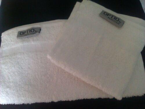 10 pièce 500gsm Égyptien 100/% coton blanc qualité hôtel ensemble de serviettes Optio libre pp