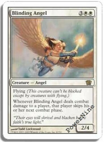 White Eighth 8th Edition Mtg Magic Rare 1x x1 1 PLAYED Blinding Angel