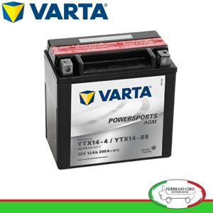 BATTERIA-MOTO-12Ah-VARTA-12V-200A-di-spunto-Powersports-AGM-512014010-YTX14-BS
