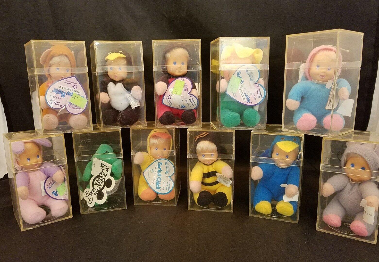 1997 Large Lot of MERITUS MERITUS MERITUS 4.5  Mini Bean Bag Plush Dolls - 11 Total 9f3f33