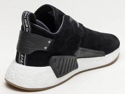ADIDAS NMD C2 Black Suede Sneakers 8   eBay
