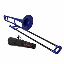 pBone Pbone1b Jiggs Plastic Trombone Blue 2day Delivery