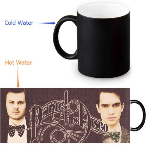 Panic at the disco Heat Reveal Mug Color Change Coffee Cup  Magic Mug Cups