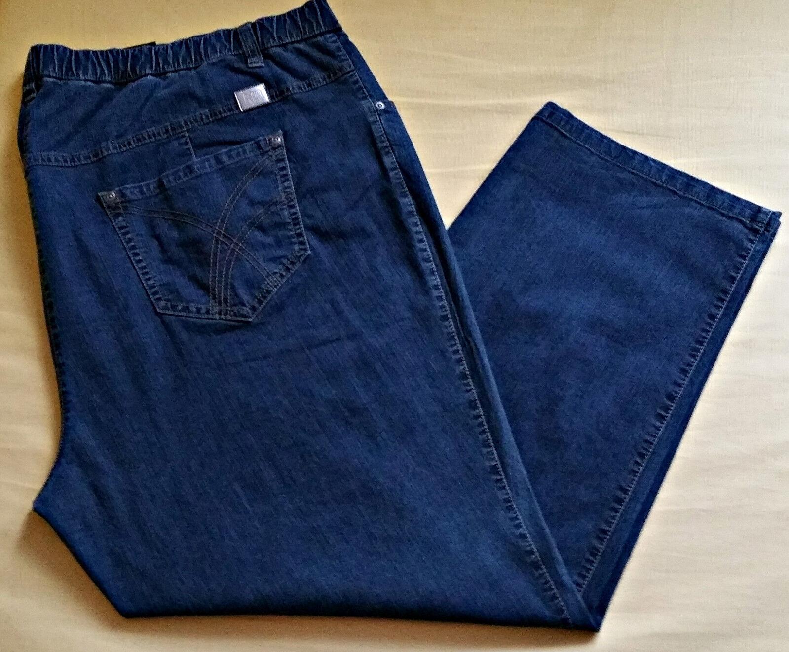Jeans Stretchhose Stoffhose Modell Betty KjBRAND KjBRAND KjBRAND Gr.28  Jeansblau 857456