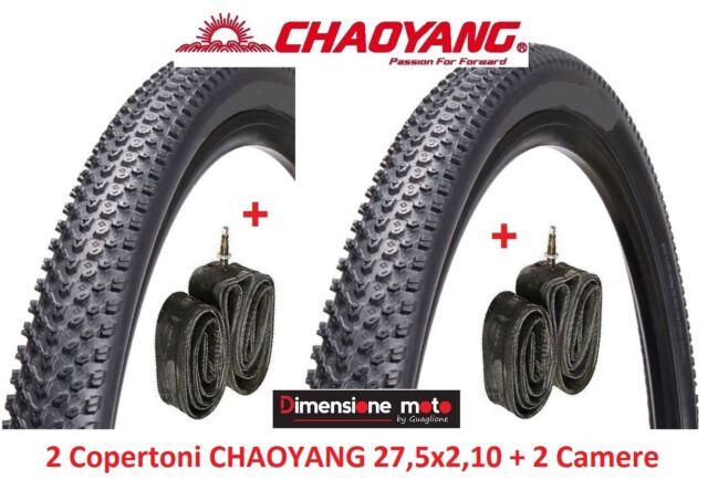 2 Pneumatici Mountain Bike 2 Camere per Aria Michelin Country Cross 26 x 1.95
